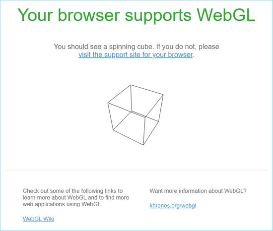 Официальный сайт разработчиков WebGL