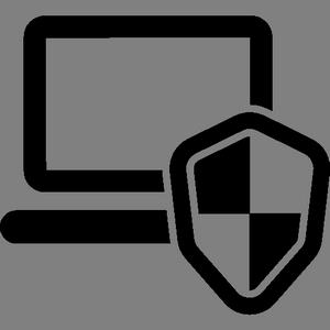 Иконка антивирусной системы на компьютер