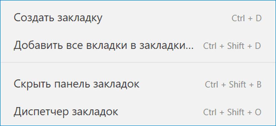 Сочетание клавиш Яндекс Браузр