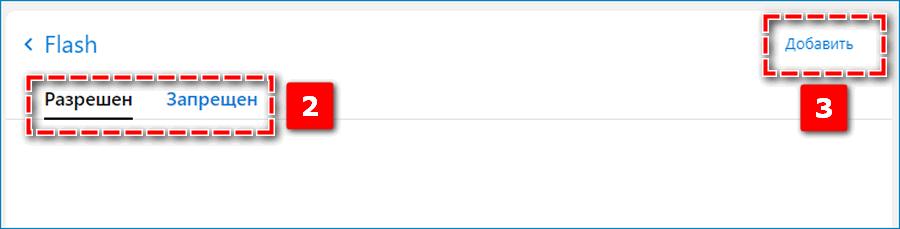 Список сайтов с флеш в Яндекс Браузере