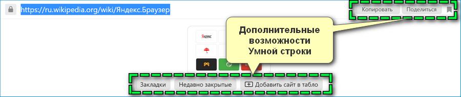 Возможности Умной Строки Яндекс Браузера
