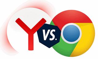 Иконка гугл против яндекса