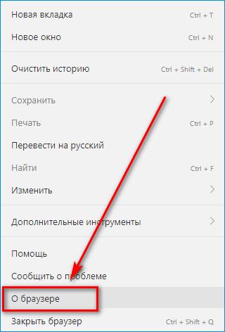 Раздел о Яндекс Браузере