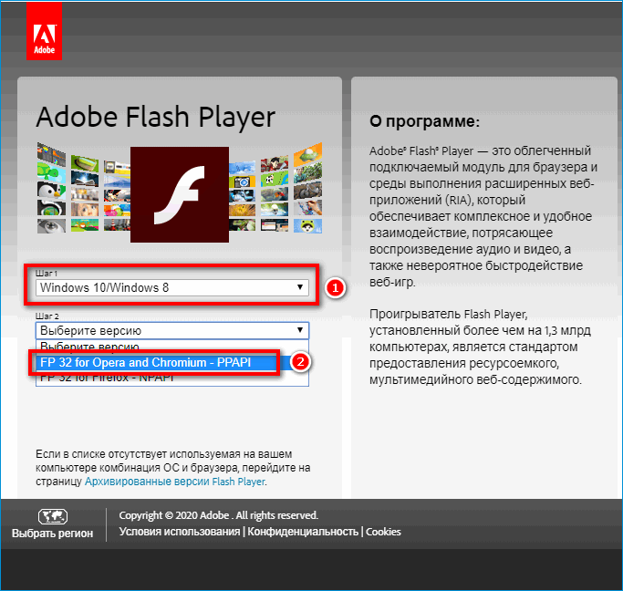 как установить adobe flash player в tor browser